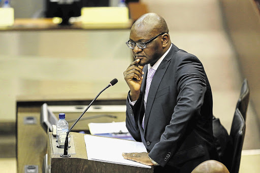 Gauteng premier David Makhura delivered the State of the Province address on Monday.