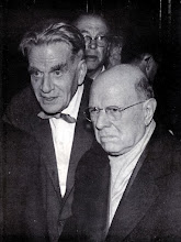 Photo: Eduard Toldrà and Pau Casals at Prades (the reunion) © Biblioteca de l'Orfeó Català