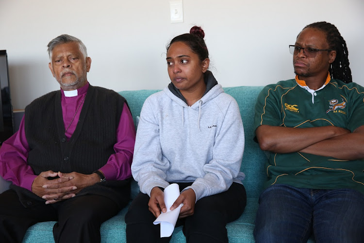 Human Rights activist and retired Bishop Rubin Phillip held a mediation between Alochna Moodley and Reverend Solumuzi Mabuza.