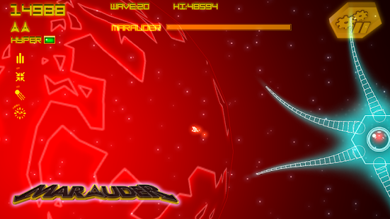 Asteroid Marauder Retro- screenshot thumbnail