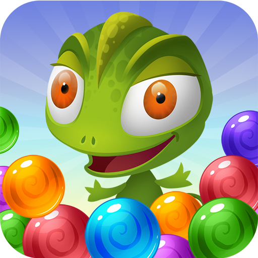 Bubble Shooter Lizard