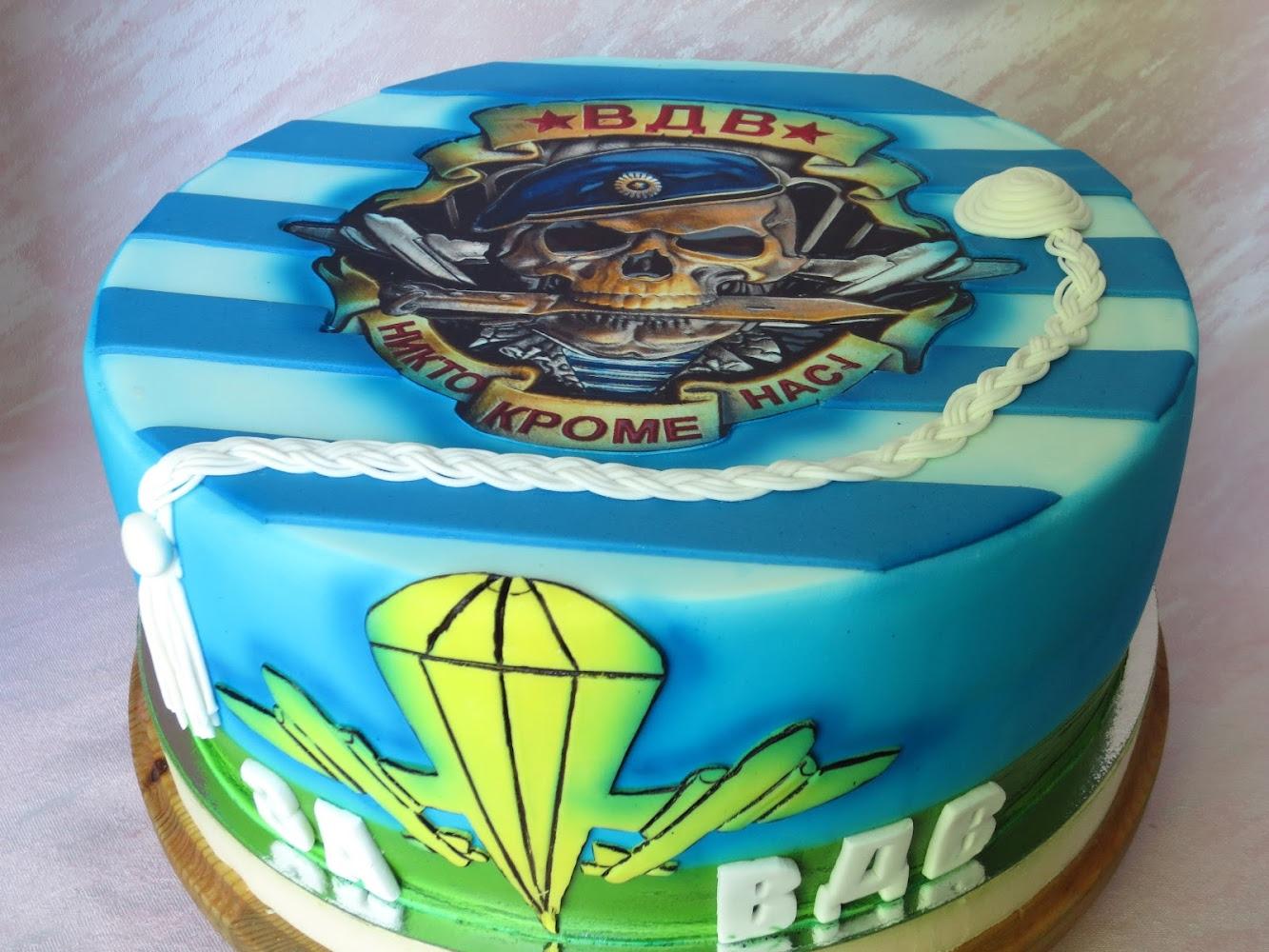 фото торта на день вдв букета зависит только
