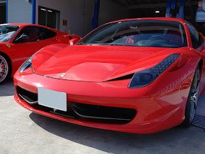 458イタリア F142 2013年登録 正規ディーラー車のカスタム事例画像 ふくポンさんの2019年10月27日21:16の投稿