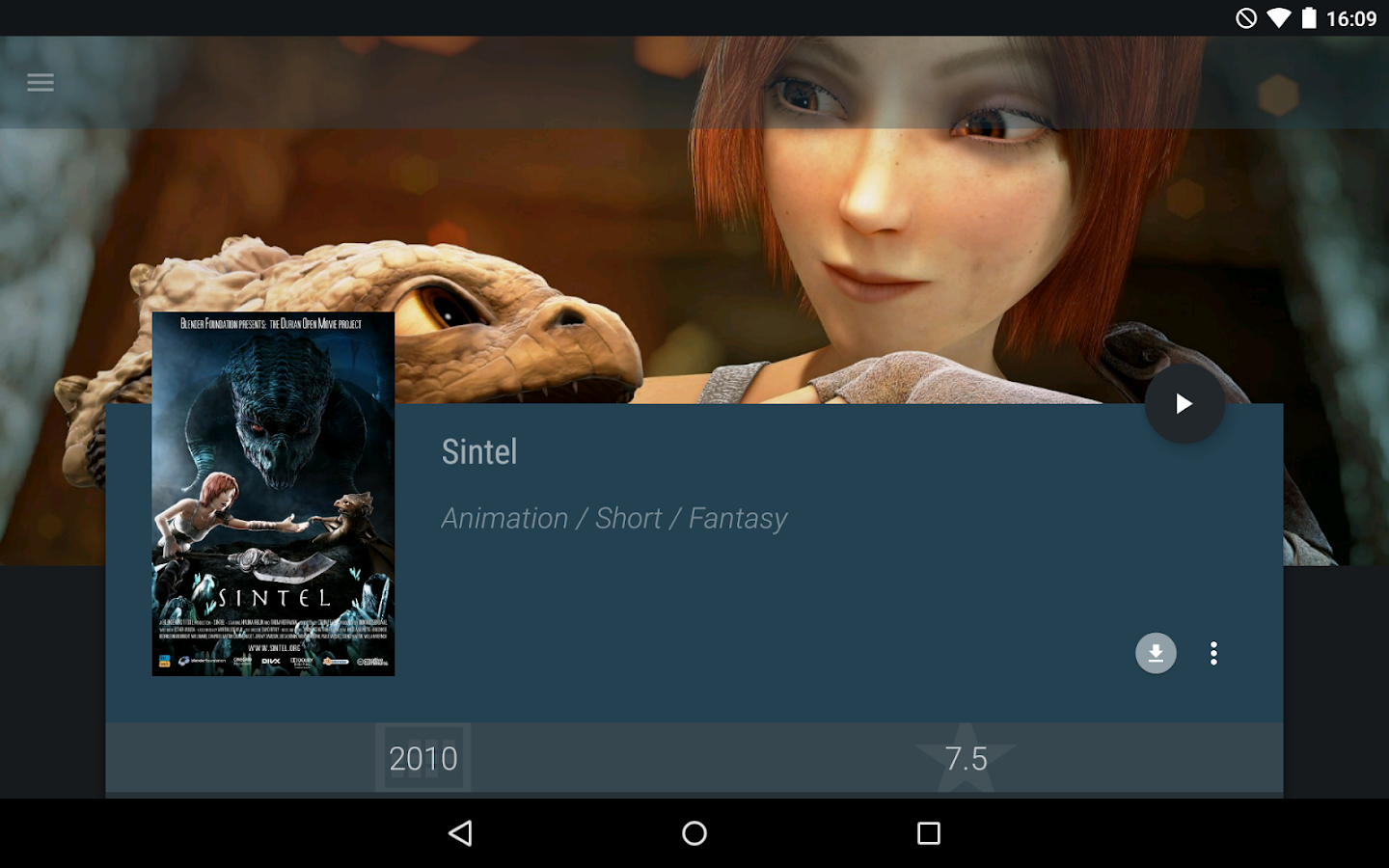 Yatse, the XBMC / Kodi Remote - screenshot