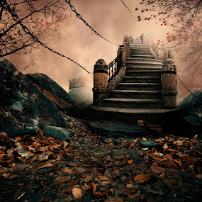 Going Through Hell to Get to Heaven by Caras Ionut - Digital Art Places