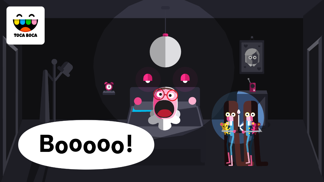 Toca Boo- screenshot