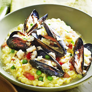 Mussel Risotto.