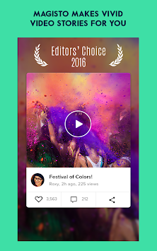 Magisto Editor De Vídeo E Foto APK screenshot thumbnail 6