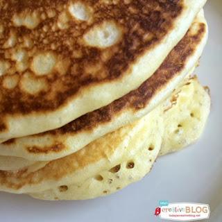 Fluffy Cake Flour Pancakes.