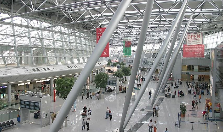4) Düsseldorf International Airport, Germany (DUS)