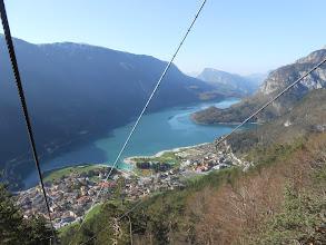 Photo: Molveno e il lago dall' alto