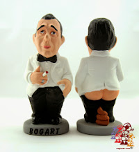 Photo: Caganer Humphrey Bogart