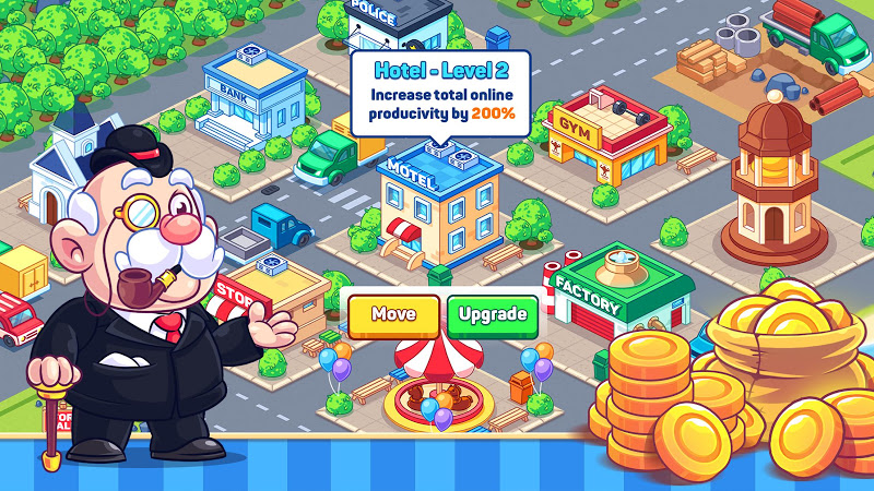 Idle Prison Tycoon - Mine & Crafting Building City Screenshot 3
