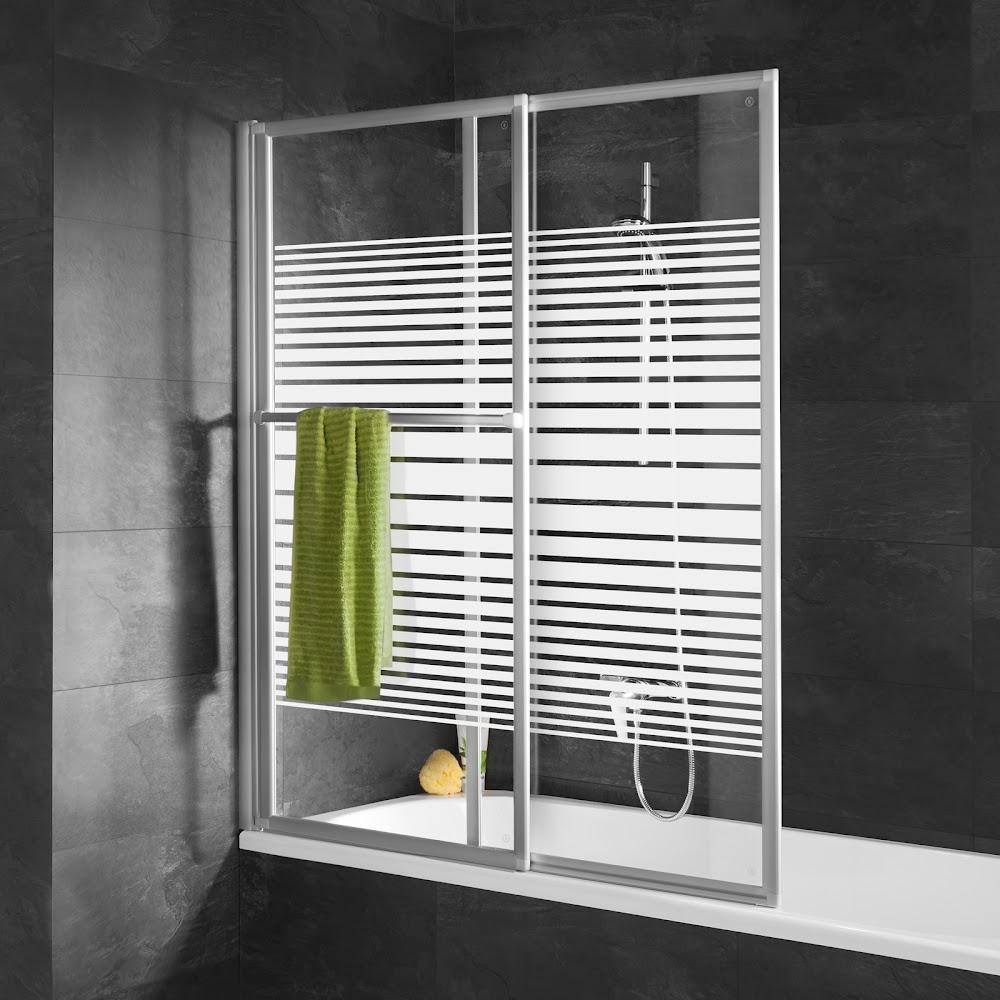 pare baignoires 2 volets pare baignoire coulissant 2. Black Bedroom Furniture Sets. Home Design Ideas
