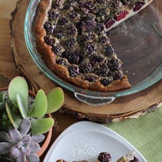 Maple Berry Breakfast Clafoutis