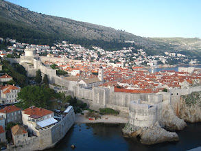 Photo: Dubrovnik, Croatia...outside old town