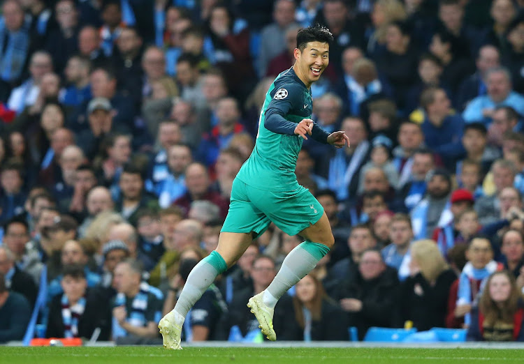 buy popular 4c399 82d97 It was madness': Son joy as Spurs survive City thriller