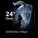 Beauty & Beast Weather Widget