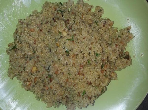 Back To Basics Quinoa Recipe