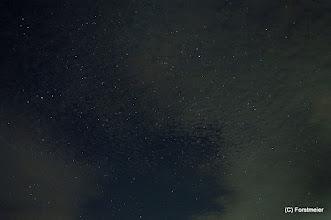 Photo: Sternenbild SW-Himmel (Erster Versuch und letzter Versuch)
