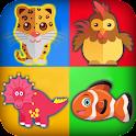 Zoo Memory -Kids Fun Mind Game icon