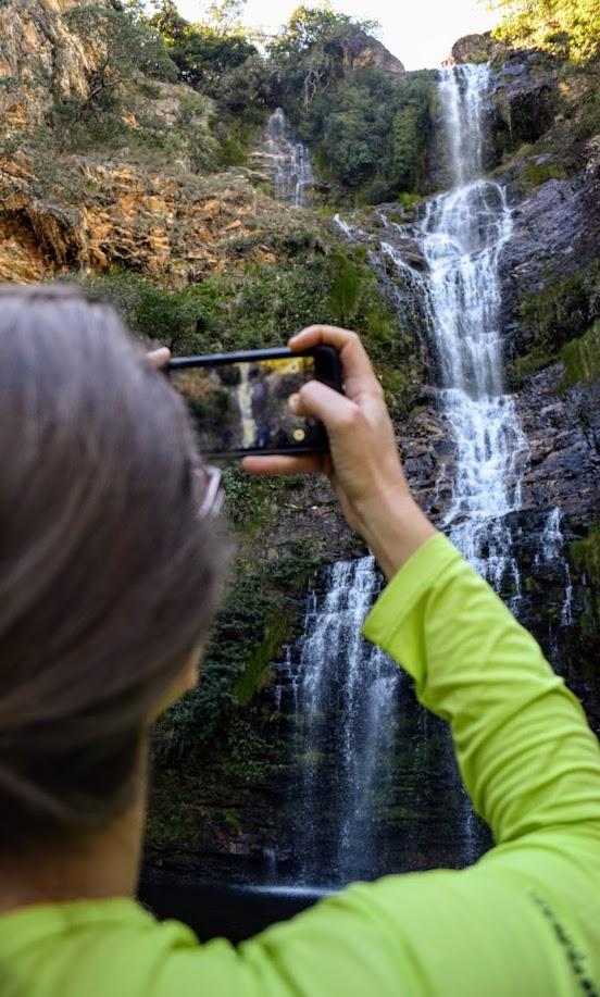 Cachoeira da Farofa, no Parque Nacional da Serra do Cipó