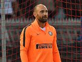Deuxième carton  rouge et toujours pas de temps de jeu pour le troisième gardien de l'Inter