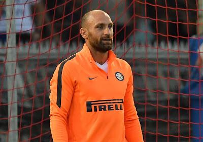 Toujours pas de temps de jeu, mais un deuxième carton rouge pour le troisième gardien de l'Inter