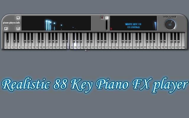 player piano chrome web store
