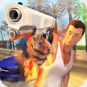 Gangster In Vegas City: Real Miami Mafia Action icon