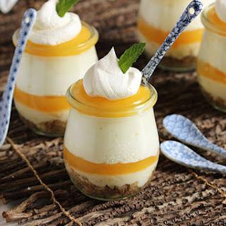Lemon Meringue Cheesecake Parfaits