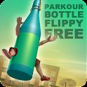 Parkour Bottle Flippy Free icon