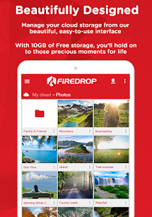 Firedrop - Cloud Storage- screenshot thumbnail