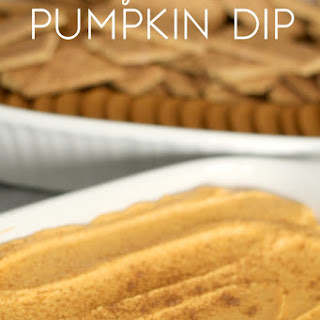 4-Ingredient Pumpkin Dip