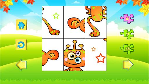 123 Kids Fun PUZZLE RED Free
