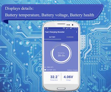Rychlé nabíjení baterie - náhled