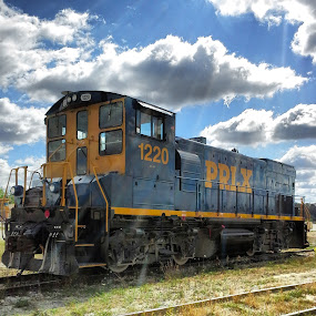 Little Engine That Could by Bob Williams - Transportation Trains ( stone quarry, engine, locomotive, railroad, kankakee, trains )
