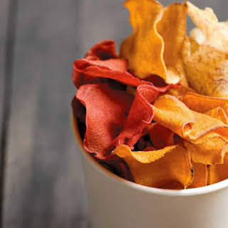 Homemade Vegetable Chips.