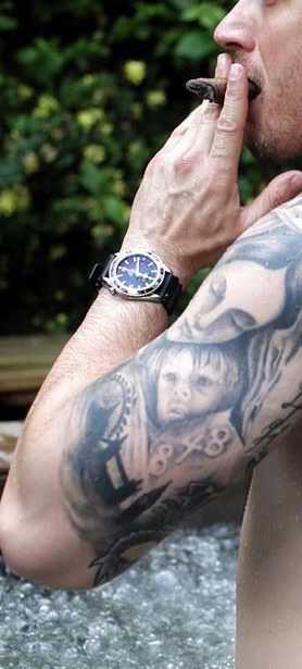 'His Son's Portrait' Tattoo