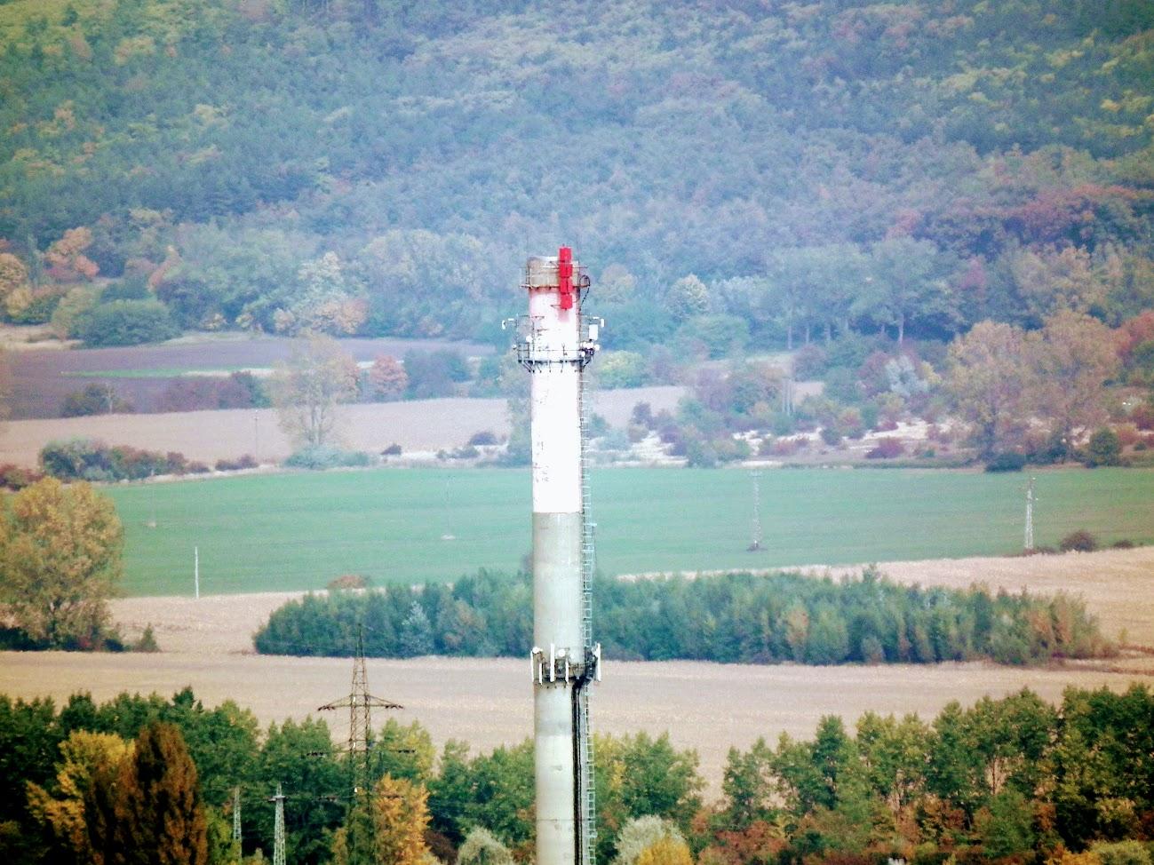 Sopron/Somfalvi út, kémény - DVB-T gapfiller