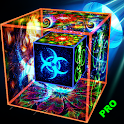 Amazing Cube Live Wallpaper Pro icon