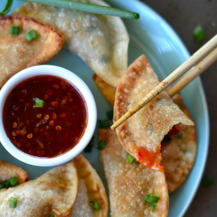 Easy Crispy Pork Wontons Recipe