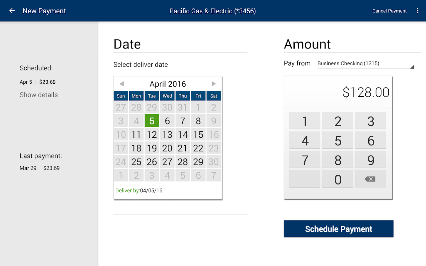 Service CU Mobile Banking- screenshot