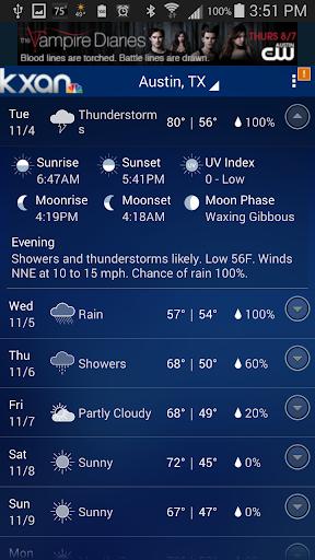 KXAN Weather screenshot 4