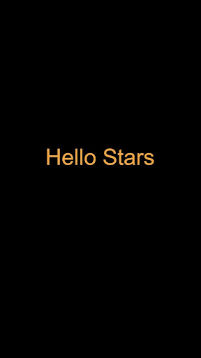 Hello Stars - screenshot