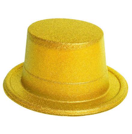 Glitterhatt, guld