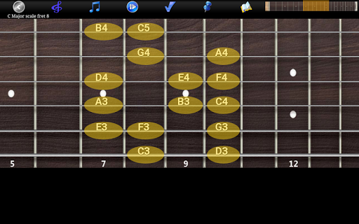 Guitar Scales & Chords Free Added Sustain option screenshots 22