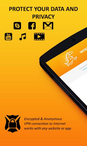 Webzilla Unlimited Free VPN 2.0.3 screenshots 2