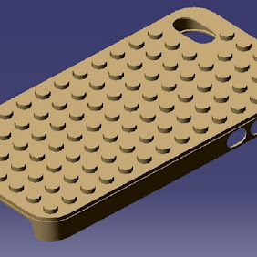 iPhone 4S Lego Case