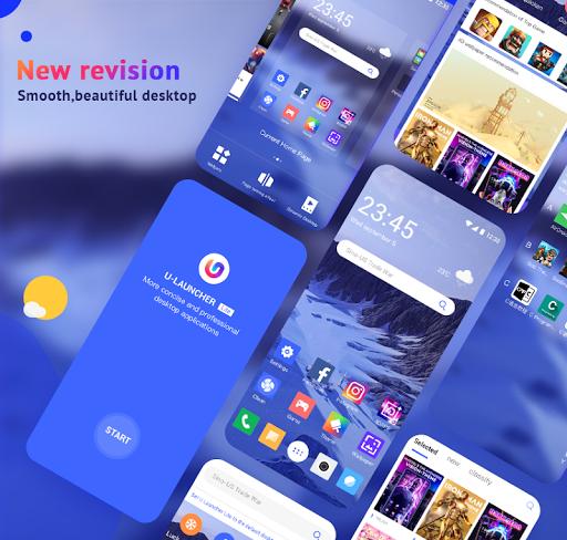 U Launcher Lite-New 3D Launcher 2020, Hide apps 2.2.27 screenshots 1